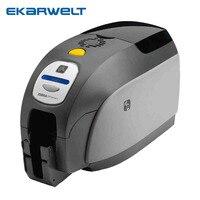 Zebra ZXP Series 3C card printer PVC ID Card Printer Single side use 800033 340CN ribbon