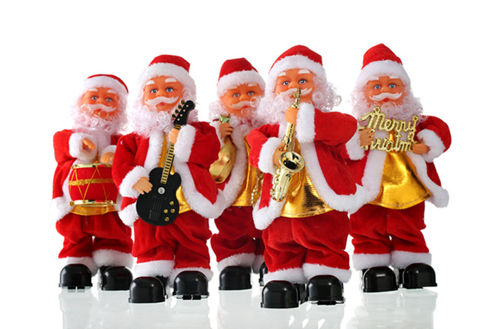 Attractive outdoor inflatable christmas decorations blow up santa