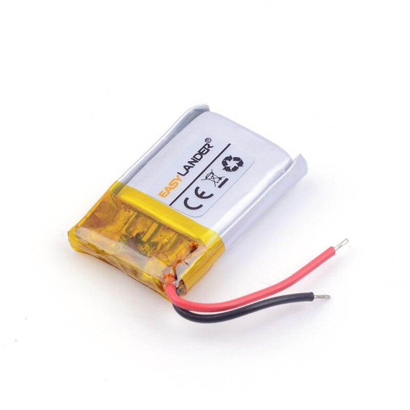 Литий-ионная аккумуляторная батарея 401517 70 мАч для MP3/4/5 <font><b>Bluetooth</b></font> Наушники <font><b>Battery</b></font> <font><b>Monitor</b></font> 041515