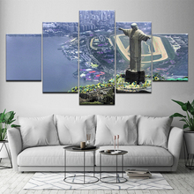Canvas Painting Rio de Janeiro city 5 Pieces Wall Art Modular Wallpapers Poster Print for living room Home Decor