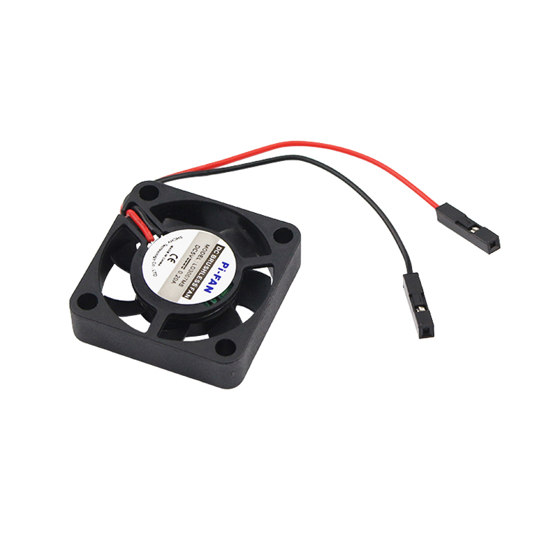 New Raspberry Pi 3 B+ CPU Fan Adjustable 5V 3.3V Cooling Fan for Raspberry Pi 3 Model B + Plus / 3 / 2 / B+ for NESPi CASE+