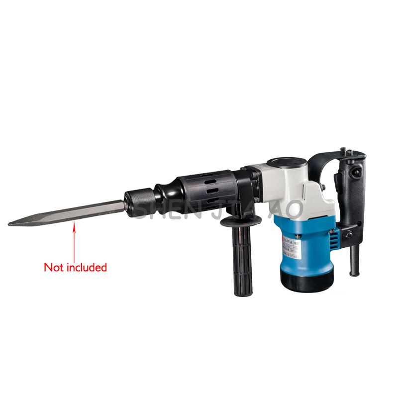 1PC Multi function Hand Held Electric Pick Z1G FF 6 Electric Pick Machine Chipping Away The Wall Grooves 220V 900W - 4
