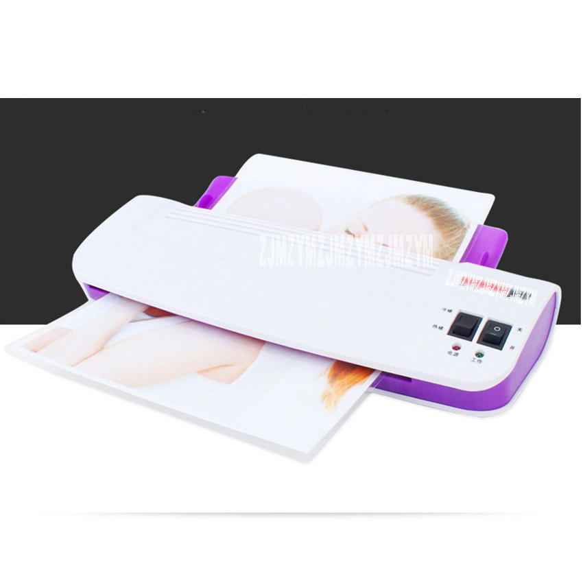 A4 Office Household Photo Plastic Sealer Cold Overcoat Overcoat Laminating Machine Sealing Machine Laminating Machine