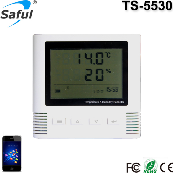433 MHz temperature and humidity recorder LCD display -50~ +125 degree wireless alarm Sensor can work with alarm system wireless pager system 433 92mhz wireless restaurant table buzzer with monitor and watch receiver 3 display 42 call button