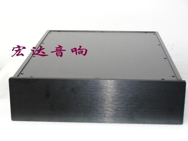 300B tube arrière en aluminium amplificateur de puissance châssis/AMP shell/case/boîte de bricolage (320*85*420mm)
