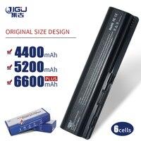 JIGU 484170 001 511883 001 HSTNN IB72 LB72 LB73 C51C W51C XB72 Laptop Battery For HP Pavilion DV4 DV5 Dv6 1200 Series G60 G70