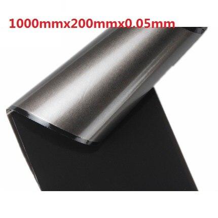 ФОТО 1000x200x0.05mm High heat conducting Graphite Sheets Flexible Graphite Paper Thermal Dissipation Graphene For CPU GPU VGA