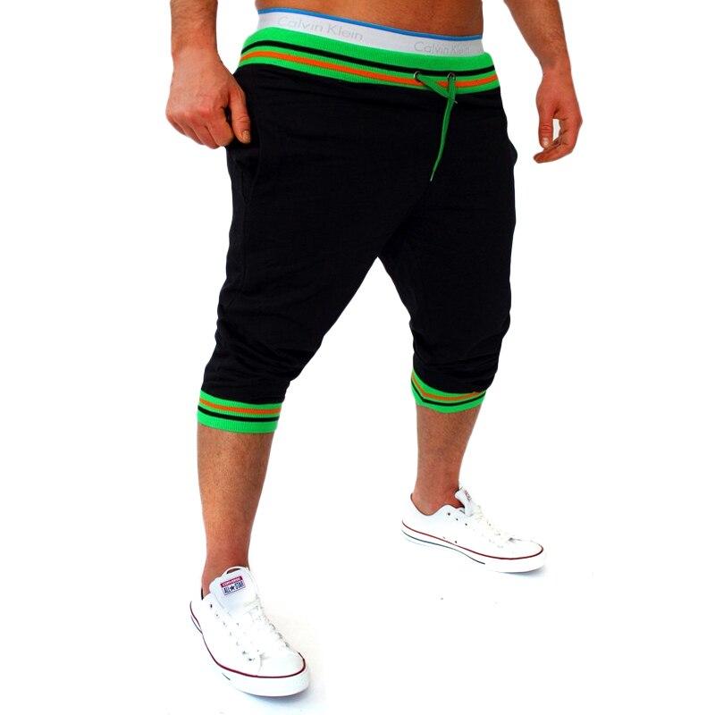 Mens Harem Capri Baggy Bermuda Masculina mma Shorts Cotton Blends Fitness Sweat Male Bodybuilding jogger Shorts M-2XL