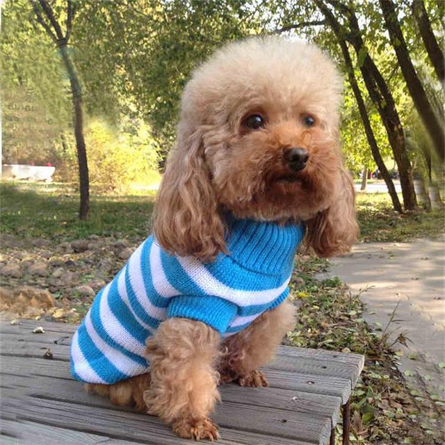 Free Shipping Crochet Dog Sweater Autumn Winter Dog Clothes