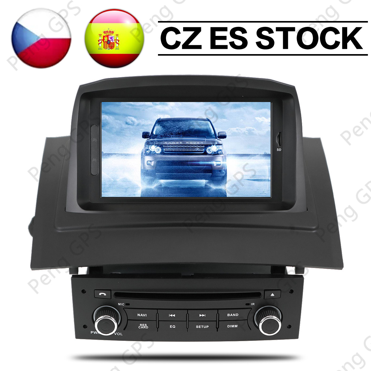 4GB IPS Android 9.0 Car Stereo <font><b>DVD</b></font> Multimedia For Renault <font><b>Megane</b></font> <font><b>2</b></font> Fluence 2002-2006 2008 Auto Radio <font><b>GPS</b></font> Navigation Audio Video image