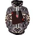 Новый 3D Печатных Толстовки мужские Кофты С Длинными Рукавами Повседневная Мода Пальто Толстовки Пуловеры Топы с Карманами