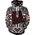New 3D Printed Men's Hoodies Sweatshirts Long Sleeves Casual Fashion Coat Hoodies Pullover Tops with Pockets