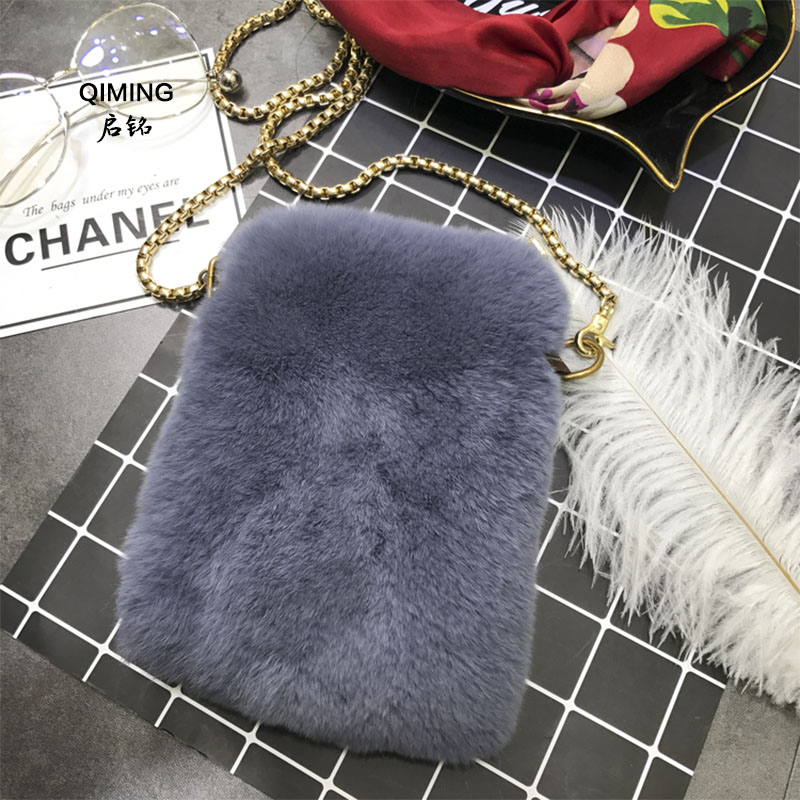 Cute plush chain ladies Messenger bag fashion wild phone bag card bag wallet handbag for iphone 7 Samsung women bag P#13Cute plush chain ladies Messenger bag fashion wild phone bag card bag wallet handbag for iphone 7 Samsung women bag P#13