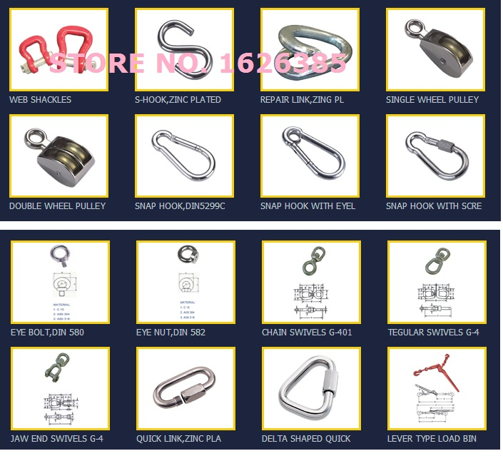 Aliexpress com : Buy M6 M12 Galvanized DIN580 eye bolt pin lifting rigging  hardware,boat part,marine hardware from Reliable marine hardware suppliers