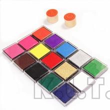 Монохромный inkpad домашнее различные скрапбукинг ремесла штамп чернила pad красочные старинные