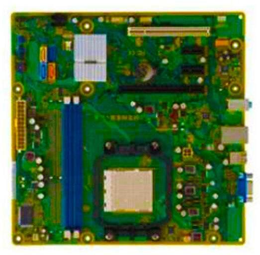 ФОТО High quality AM3 M2N68-LA Motherboard 586723-001 585742-001 DDR3 Socket AM3 100% tested perfect quality