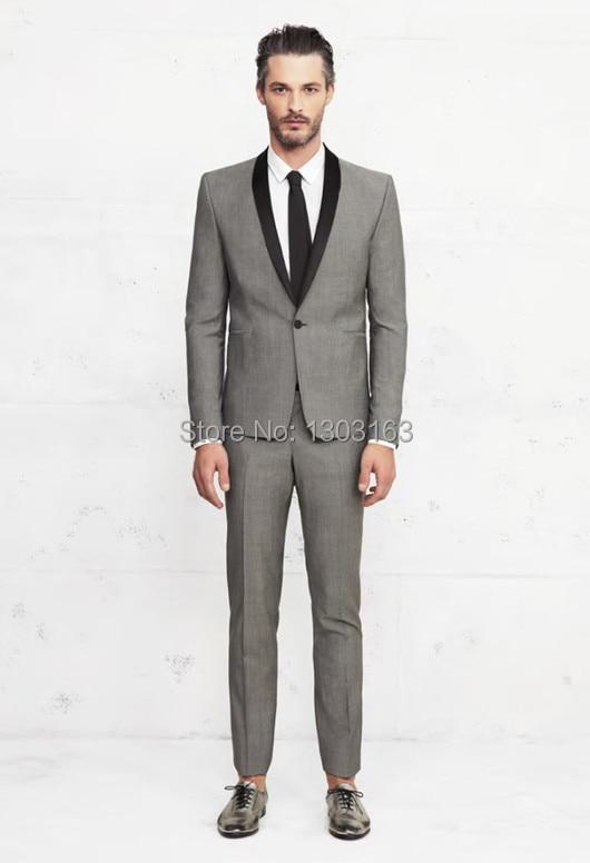771aef6839446 2016 Venta caliente por encargo del novio esmoquin proceso butilo color hombre  trajes de boda trajes moda prom envío libre al por mayor