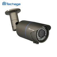 Techage H265 Mini CCTV POE 2 8 12mm Zoom IP Camera 2 0MP 4 0MP 48V