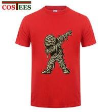 85af2868 Dabbing Ghost T shirts men Dabbing Mummy tshirt Dabbing Skeleton  fluorescent design glow in the dark Dabbing Skull t-shirt homme