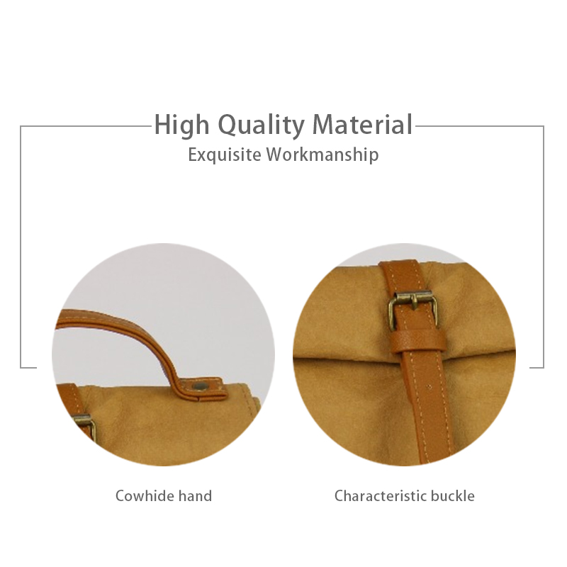 2019 Waterproof Lunch Bag for Women Kids Men Cooler Lunch Box Picnic Tote Food Kraft Paper Bags Insulation Portable Package in Storage Bags from Home Garden