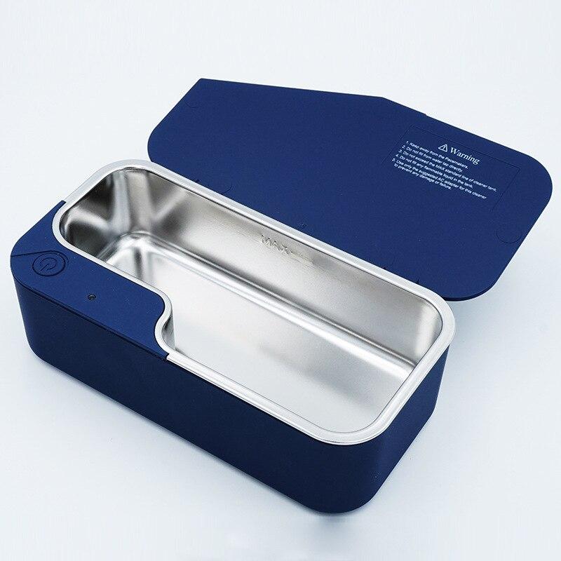 Mini Portable numérique professionnel ultrasons prothèse nettoyeur bijoux nettoyage Machine nettoyeur pour or argent bijoux anneau collier