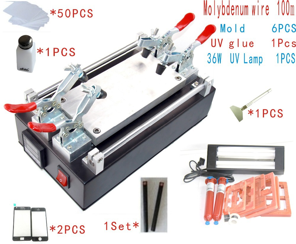 2016 Latest LCD Separator Machine Seperator to Repair Split Separate Glass Touch Screen Digitizer for font