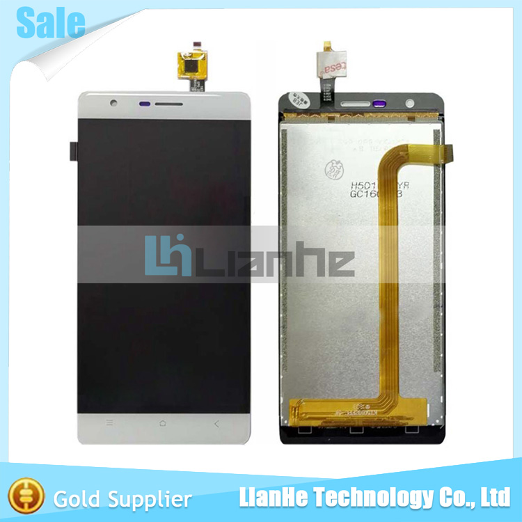Black White Gold For Oukitel K4000 lite LCD Display and Touch Screen Sensor Assembly Repair Part