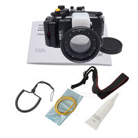 Waterproof Underwater Housing Diving Camera bag Case for Sony DSC RX100 IV/RX100 M4 Mark 4