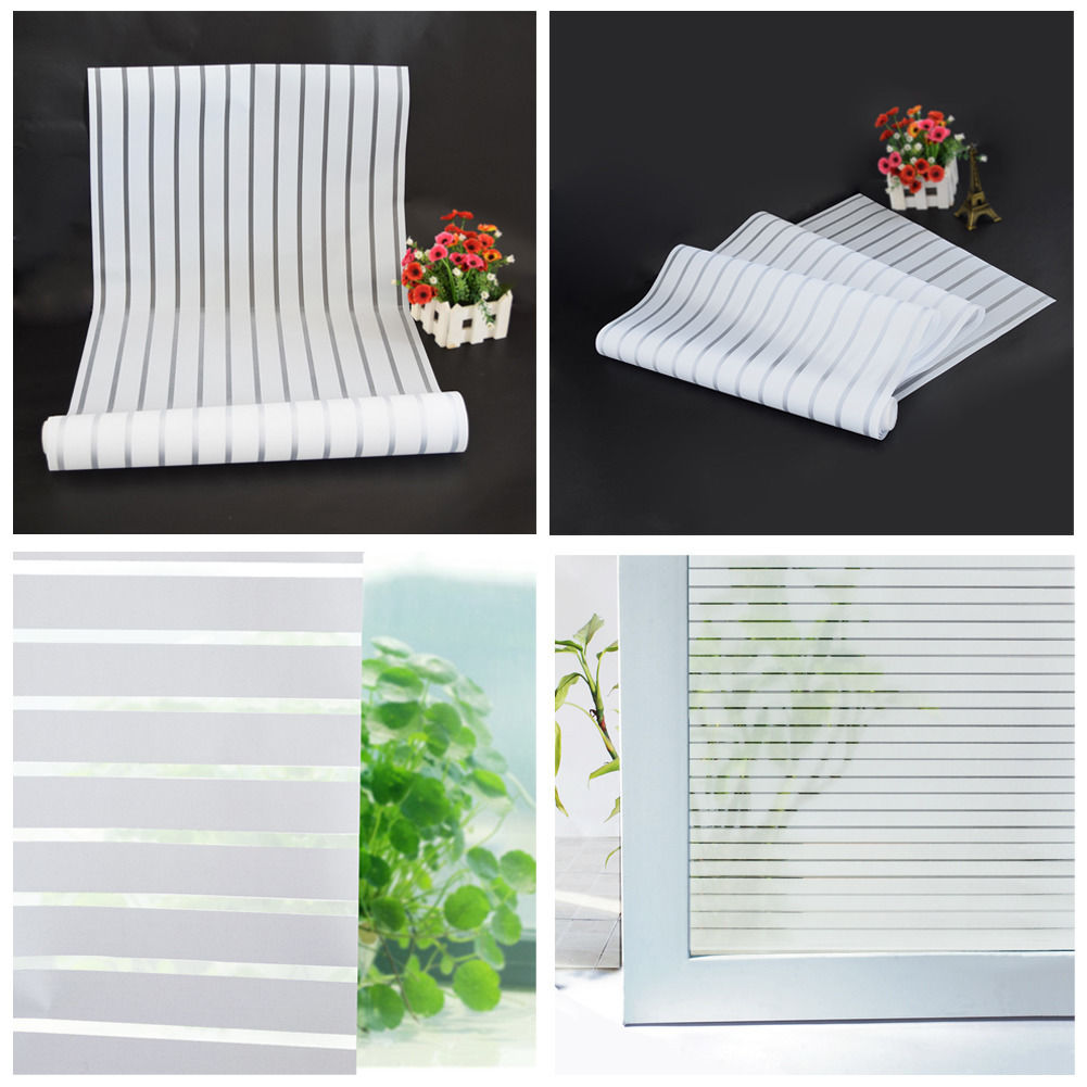 Hot sale 40x200cm glass window film frosted privacy for Glass privacy window