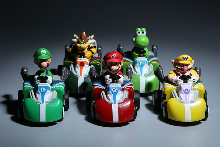 super mario bros mario andretti racing mini figure put. Black Bedroom Furniture Sets. Home Design Ideas