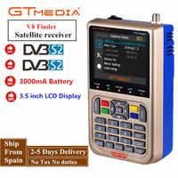 GTMEDIA/Freesat V8 Finder HD DVB-S2 détecteur de Satellite numérique haute définition détecteur de Satellite DVB S2 Satfinder 1080P