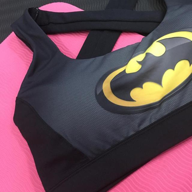 Women's Quick Dry Superman Bra