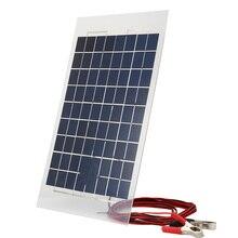 38*22*0.4 см 18 В 10 Вт Панели Солнечных Батарей Банк Солнечное Зарядное Устройство Панель Банк DIY Внешняя Батарея для Автомобилей Ж/Крокодил