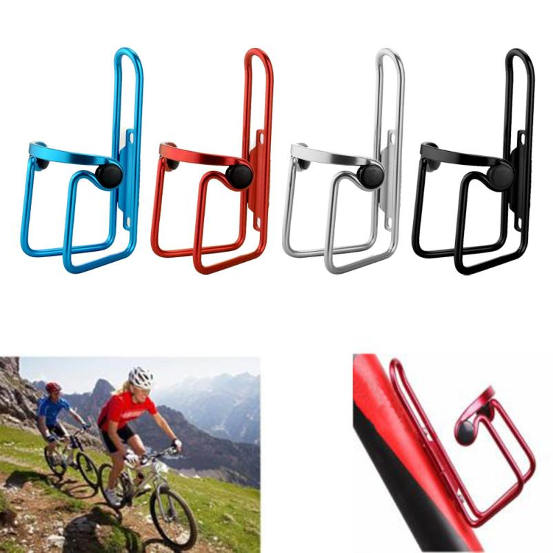 Aluminium Alloy Mountain Bike Water Bottle Holder Bicycle Drink Water Rack Cage`