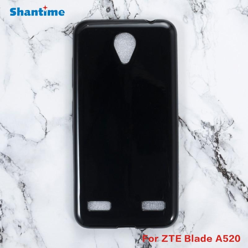 Para ZTE Blade A520 Gel Pudding silicona teléfono protector carcasa trasera para ZTE Blade A520 suave TPU funda