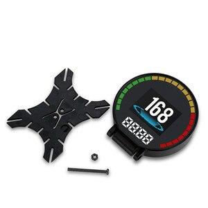 Image 5 - GEYIREN P15 head up display hud obd2 temperatur auto KM/h MPH Turbo Boost Druck geschwindigkeit projektor auf die windschutzscheibe für auto HUD