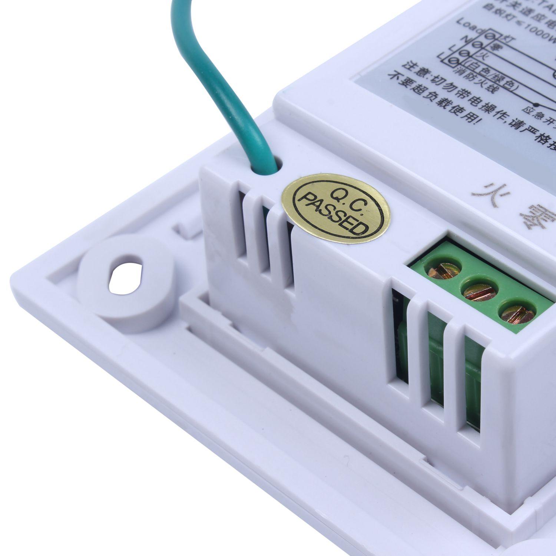 TD White TAD-SGK03X 220V Sound and Light Control Delay Sensor Switch
