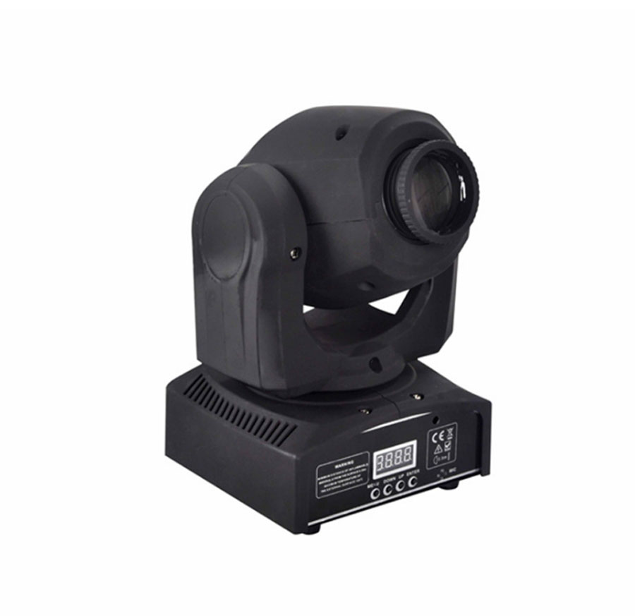 LED Stage Light 8 Gobos 8 Colors Moving Head Stage Effect Light RGBW 9/11 Channel Auto-run DMX512 Sound-activated Master-slave