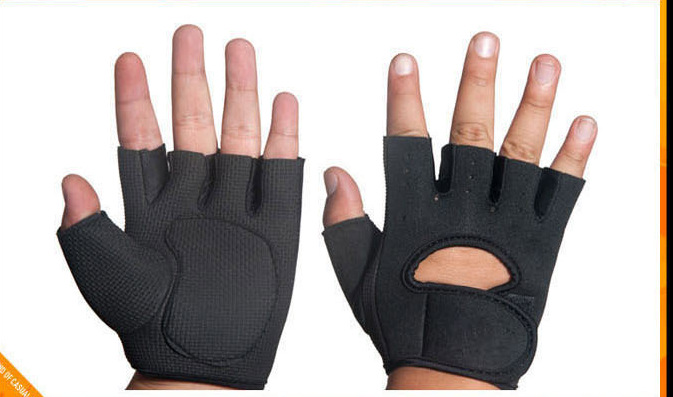 Semi outdoor riding gloves that women and men exercise climbing anti-skid breathable riding gear