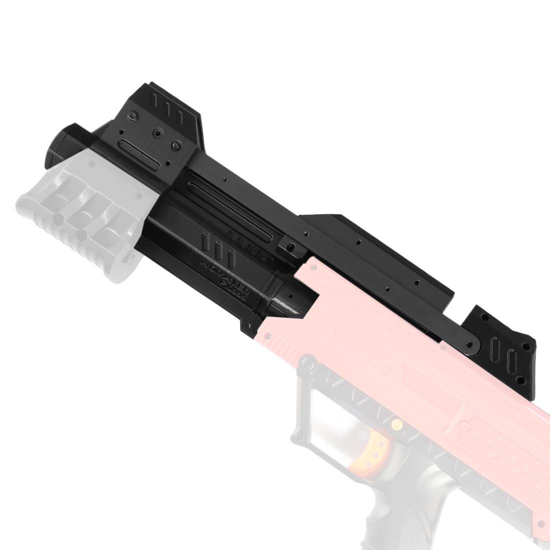 TRAVAILLEUR f10555 3D Impression Pull-down Kit pour Nerf Rival Apollo XV-700-Noir
