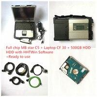 2019,05 V MB Star C5 2019 SD соединение C5 с новейшим программным обеспечением мб инструмент диагностики авто star c5 vediam0/X/DSA/DTS с CF30 ноутбука
