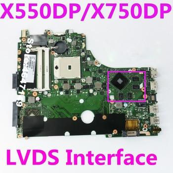 X550DP Motherboard REV:2.0 For ASUS X550 X550DP K550D X550D K550DP laptop Motherboard X750DP Mainboard X750DP Motherboard 100%OK