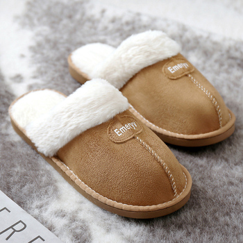 Women House Slippers Plush Winter Warm Shoes Woman Comfort Coral Fleece Memory Foam Slippers House Shoes for Indoor Outdoor Use 2