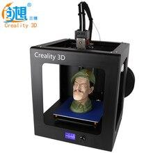 2017 CREALITY 3D Auto Leveling CR-2020 Один Ключ Работать LED Полный Собранный 3d-принтер Большой Размер Печати С Бесплатным накаливания
