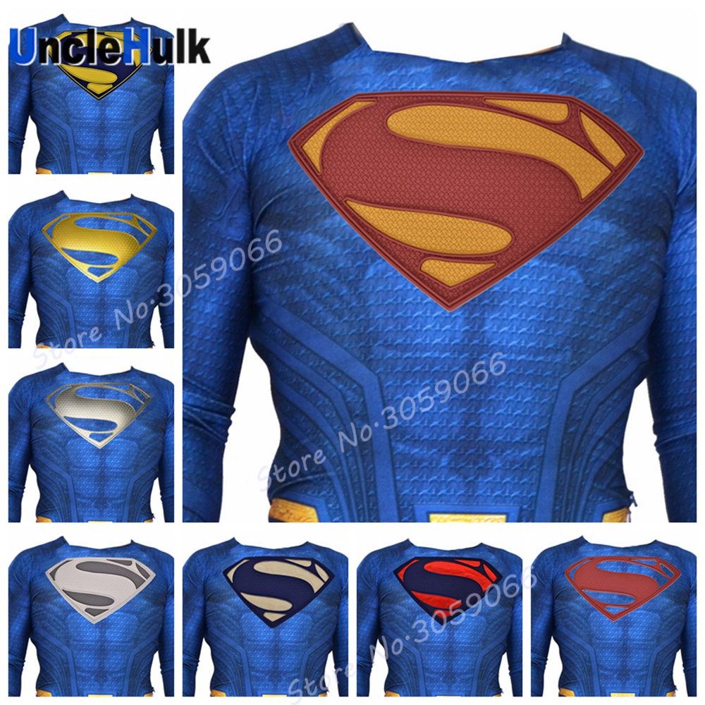 Superman Rubber Logo on Chest- Cosplay Props | UncleHulk