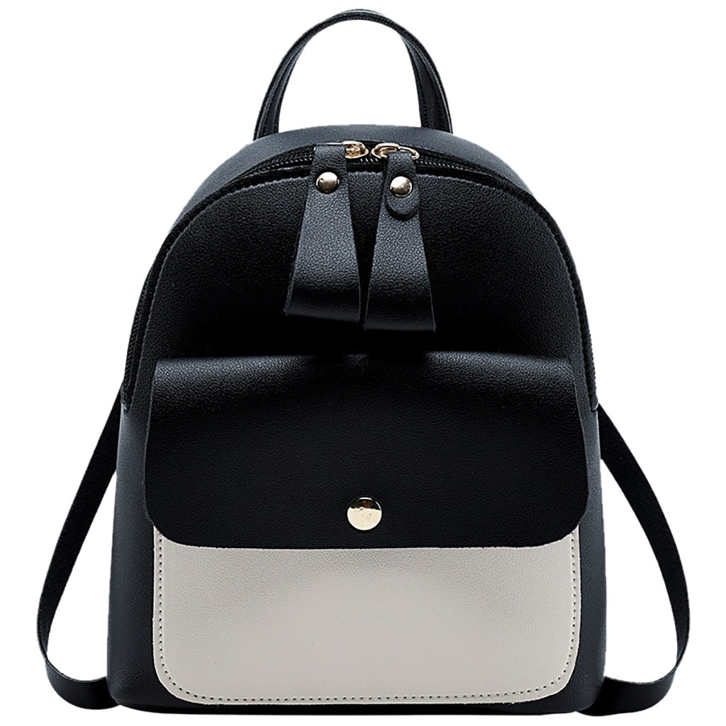 2019 New Fashion Lady Shoulders Small Backpack Letter Purse Mobile Phone Bag Mochilas Feminina Bagpack Mochila Mujer