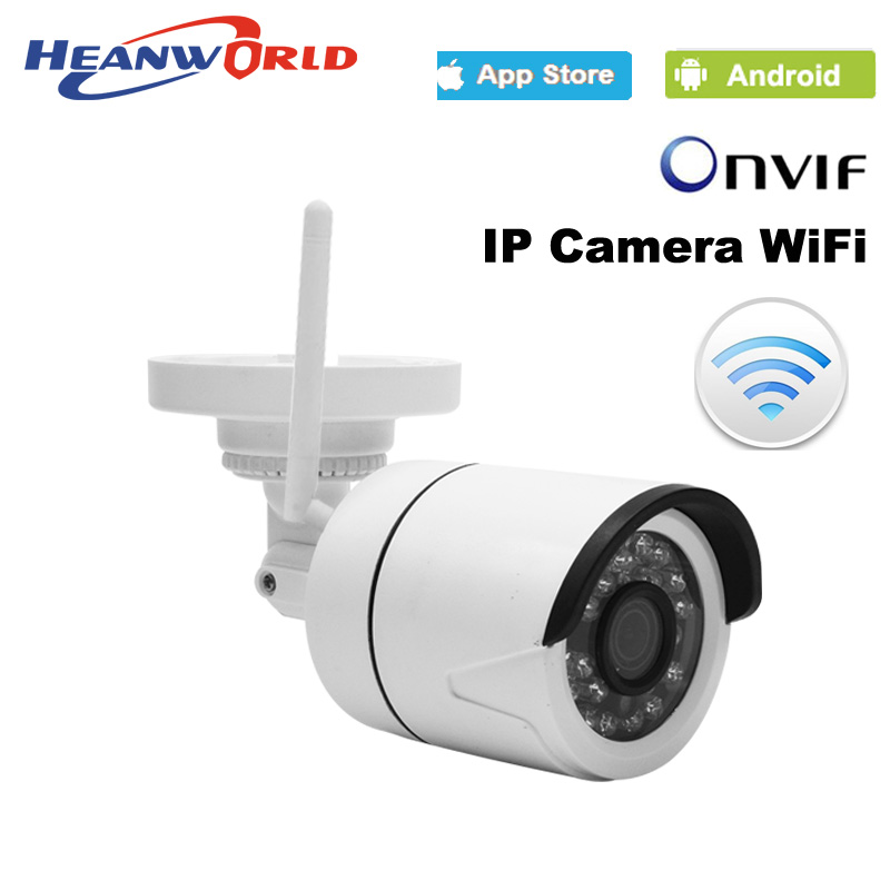 Outdoor 1080P IP Camera Wireless Wifi HD IR night vision Onvif waterproof security bullet network web camera h free shipping hd 1080p waterproof bullet ip camera wifi wireless outdoor surveillance camera onvif security ir night vision