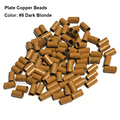 Plate Edge Copper Micro Rings 3.4*3.0*6.0mm Dreadlocks Beads Cuff 1000pcs/Lot Micro Ring For Hair Extension
