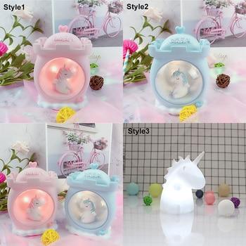 LED Cartoon Unicorn Lamp