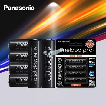 Panasonic Eneloop Original Battery Pro AA 2550mAh 1.2V NI-MH Camera Flashlight Toy Pre-Charged Rechargeable Batteries